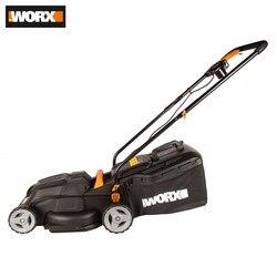 Tondeuse à gazon Worx WG713E outils outil de jardin puissance automatique tonte herbe tonte tondeuse à gazon tondeuses à gazon tondeuse électro rechargeable pour pelouses électrique filaire