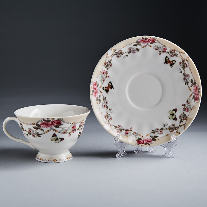 купить Set tea Rosario Flower carnival Ф2-016 P/6 to 6 персон, 12 pieces по цене 1490 рублей