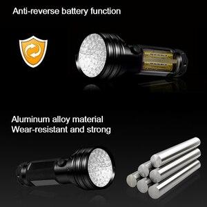 Image 5 - UV Flashlight Torch Light LED Ultraviolet Lamp UV Light Smudge Marker Checker Detector for Dog Urine, Pet Stains and Bed Bug z50
