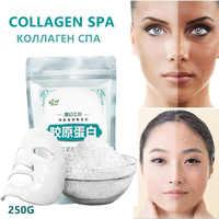 250g Feuchtigkeitsspendende Collagen Anlage Maske Pulver Anti-Aging Gesicht Maske Narben Akne Control Peel Off Gesichts Behandlung Für SPA-Center
