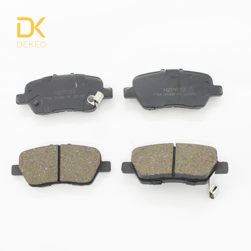 Car-Brake-Pads Odyssey-Ii Honda Rear for CROSSROAD Elysion III IV 4PCS DEKEO title=