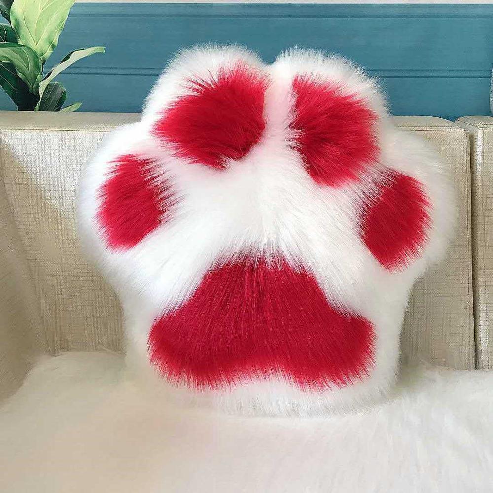 Kawaii Cat Paw Pillow 2
