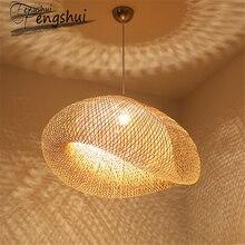 Modern Bamboo Pendant Light Lamp Lighting Restaurant Hotel R