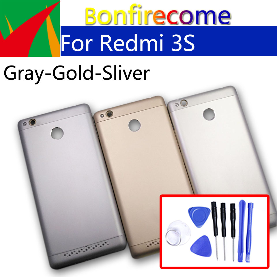 3S Battery Back Cover For Xiaomi Redmi 3 Back Battery Door Rear Housing Cover For Redmi 3S Case Chassis Shell Replacement