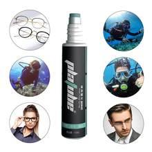 Óculos anti névoa spray seguro durável óculos de proteção de lente transparente agente