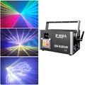 DMX + ILDA + SD + 2D + 3D мульти Цвет 3 Вт Rgb лазерный светильник ing/ди-Джея свет для сцены парти Светильник проектор
