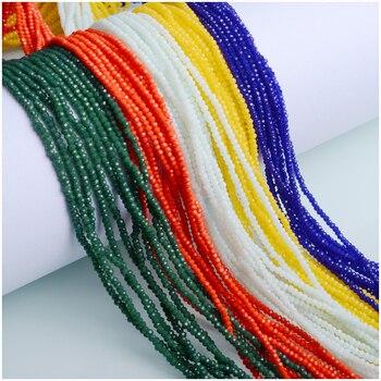 JuleeCrystal 2mm 3mm cuentas facetadas Rondelle Austria cuentas de vidrio cuentas espaciadoras sueltas para fabricación de joyas