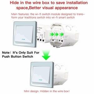 Image 2 - Tuya DIY WiFi LED דימר אור מתג אוניברסלי חכם חיים/שלך APP שלט 1/2 דרך מתג עובד עם alexa Google בית