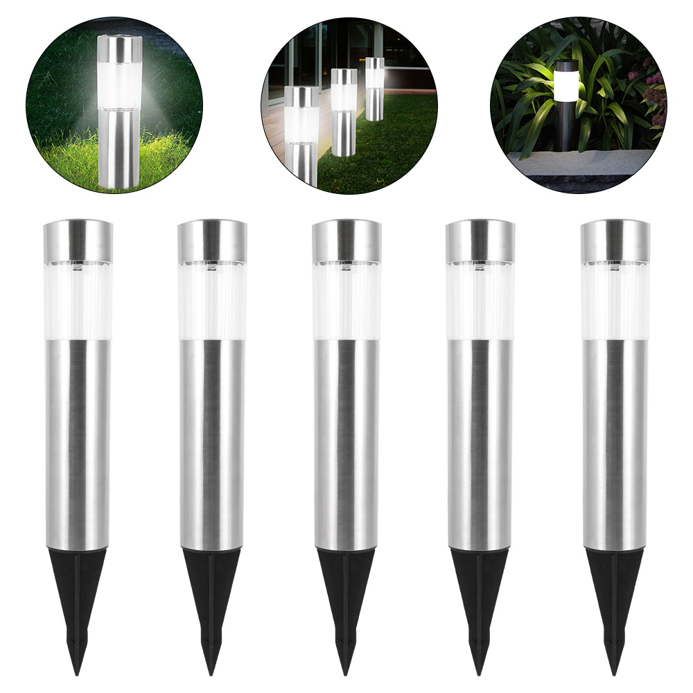 Solar Power Light Outdoor Waterproof Solar Garden Light White Led Solar Lamp Sunlight Landscape Lighting For Patio Yard Lawn
