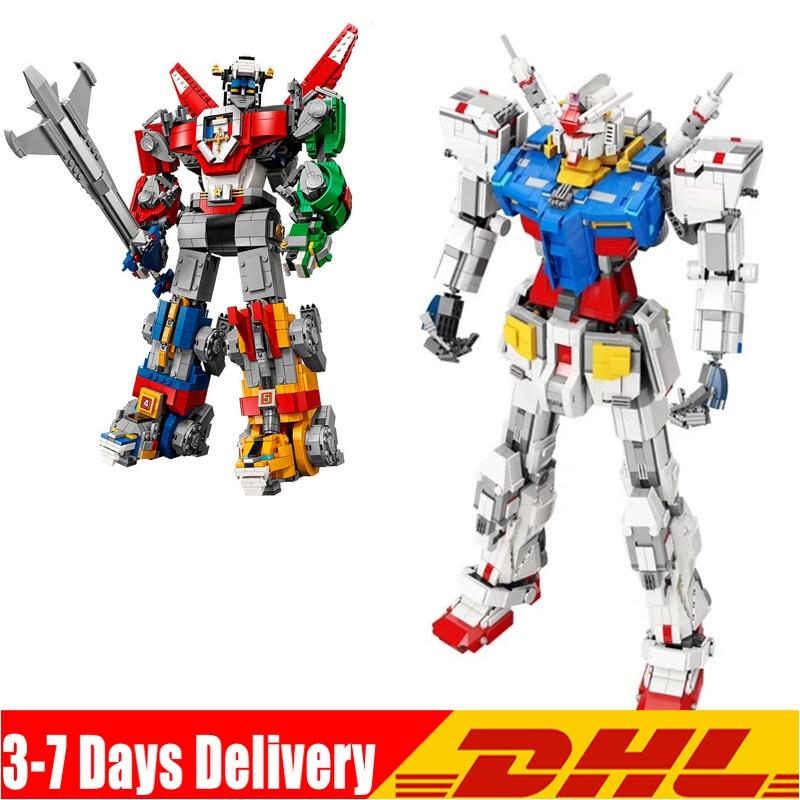 IN STOCK Mecha Classic Gundam Model 18K-RX78-2 1:60 Voltron  Model  Building Block Toys Compatible Legoinglys Legoinglys 21311