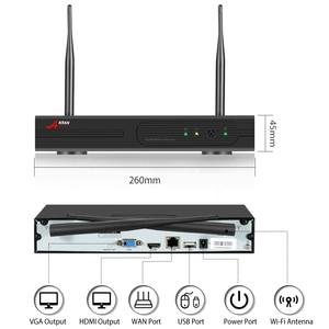 Image 5 - ANRAN 8CH inalámbrico sistema de cámaras de seguridad Video de 1080P cámara de vigilancia inalámbrica Bluetooth H.265 HDD 2MP IP66 inalámbrico NVR conjuntos