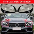 Автомобильные фары, стеклянная лампа, затеняющая оболочка, фары, крышка лампы для Mercedes-Benz E-Class W213 E200 E260 E300 E400 2016-2020