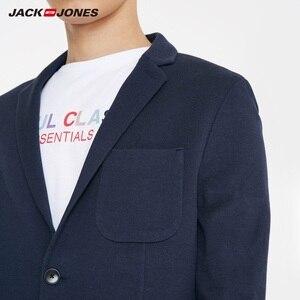 Image 5 - Chaqueta JackJones de algodón 100% de dos botones ajustada para hombre, chaqueta de estilo básico para hombre 219108509
