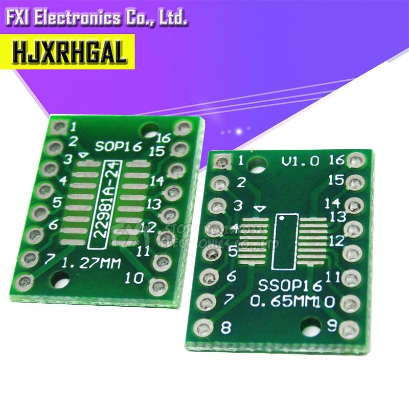 Transfer-Board Pitch-Adapter 10PCS To Igmopnrq TSSOP16 DIP16