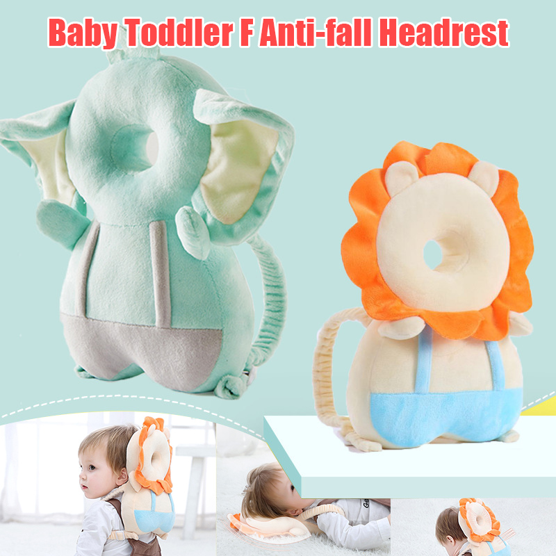Cute Baby Head Protection Pad Headrest Pillow Back Protector Soft Safety Cushion FJ88