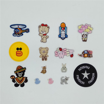 New arrive Stripe Patch Iron Patch Badge Hot Sticker Clothes DIY Sewing ironing on clothes Applique Girls Sewing Accessories image