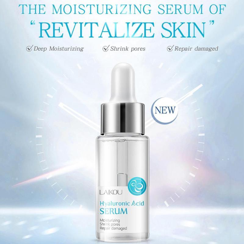Bourenic Acid Serum 15ml Tight Moisturizing And Hydrating Hyaluronic Acid Skin Care Face Serum