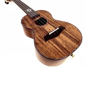 """Image 3 - Enya K5 Ukulele 5A Tijger Streep Koa Ukelele 26 """"23"""" Hawaii Gitaar 4 String Mini Gitaar Muziekinstrumenten professionals"""