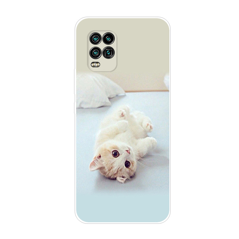For Xiaomi Mi 10 Lite 5G Case Soft Silicone Back Cover Case On For Xiaomi Mi Note 10 Lite Phone Back Cover Mi10 Youth Fundas