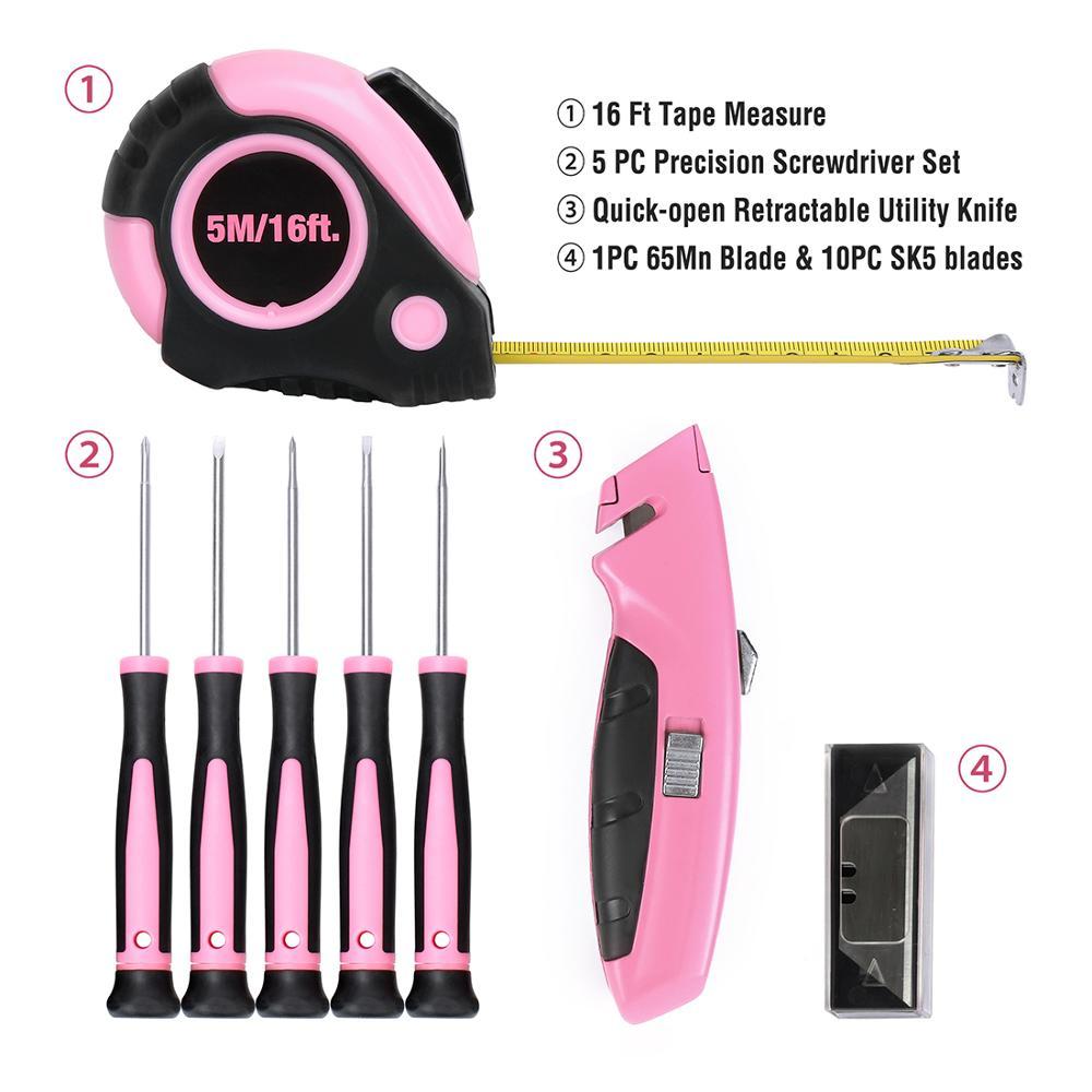 WORKPRO 103PC Set roz de unelte Set de unelte de mână pentru - Seturi de instrumente - Fotografie 5