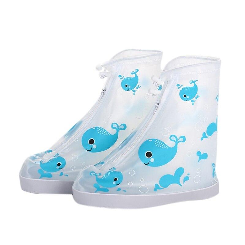 Водонепроницаемый детский дождевик для обуви с животным принтом обуви протектор Чехлы для обуви многократного применения зонтик
