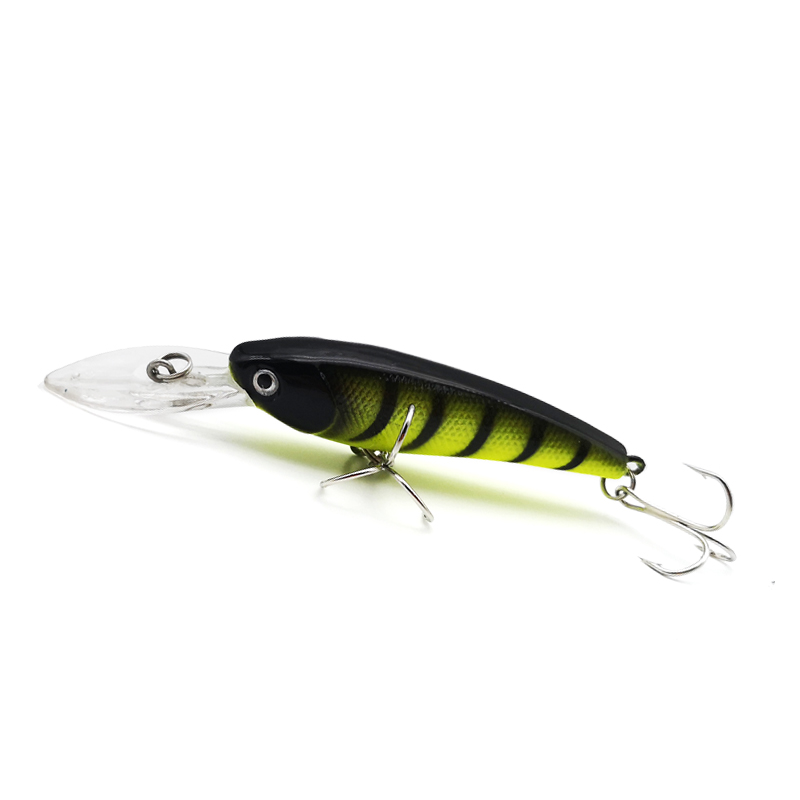 Thritop New Type Minnow 7G 90MM 5 Different Color High Quality TP098 Professional Fishing Lure Hard Bait Fishing Tackles in Fishing Lures from Sports Entertainment