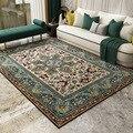 Европейский стиль ковров для гостиной  большой размер  высокое качество  домашний ковер для спальни  плотный ковер для гостиной  винтажный п...