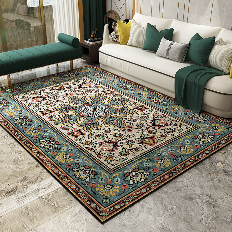 European Court Style Carpets For Living Room Big Size High Quality Home Carpet Bedroom Thicken Parlor Rug Vintage Persian Carpet