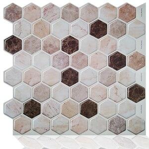 Домашний декор мозаика самоклеящаяся кухня щитка пилинг и палка виниловые наклейки для настенной плитки