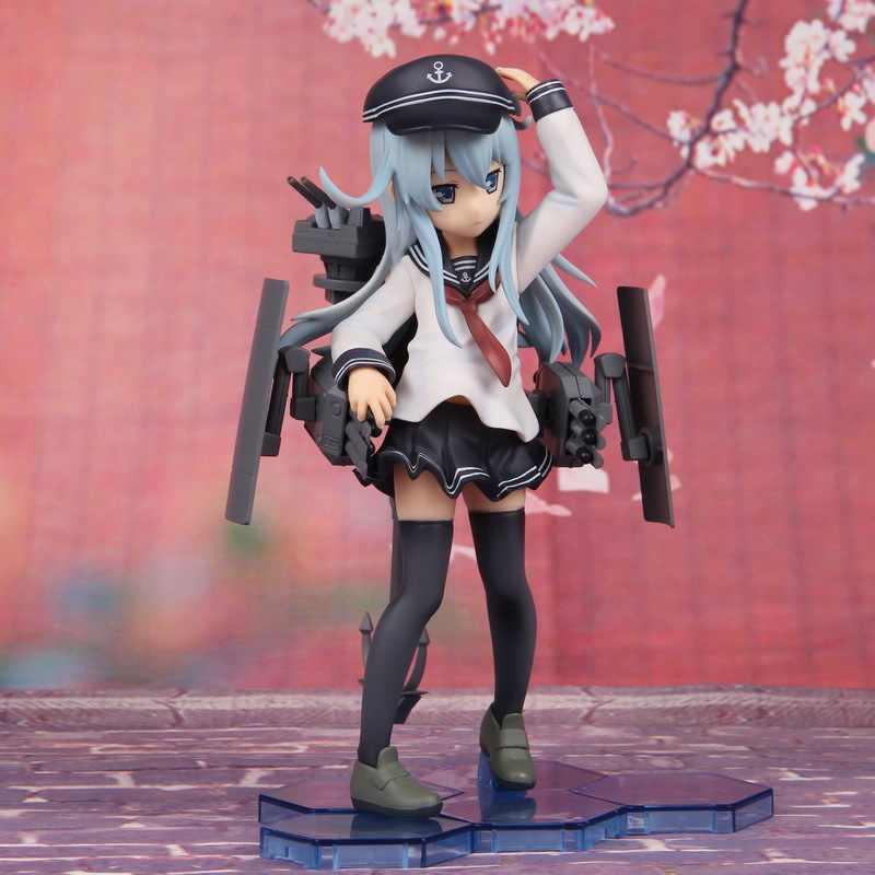 Colección kantai figura japonesa Anime Hibiki Yamato 1/8 coleccionable en uniformes soldados figuras de acción Juguetes