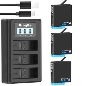 Image 1 - original probty for GoPro Hero 8 hero 7 hero 6 battery Bateria Akku for GoPro hero  6 7 8 black camera battery