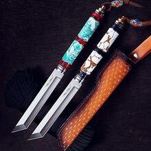 Keychain knife Survival Fruit Kitchen hand tools Flipper knife Cs go Karambit Diving navaja Knives fixed blades Hunting Tools