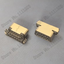 5 Cái/lốc VGA Kết Nối Jack Cắm D SUB 15P F R/Ngâm Mình Cho Lenovo Samsung HP Dell V. V Laptop CRT Cổng