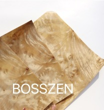 5pcs 29x33cm Natural pomegranate bark wood veneer