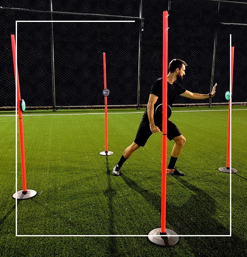 Training Reaction Lamp Exercise Reactivity Induction Lamp Training Equipment For Soccer Basketball Football Boxing Taekdondo