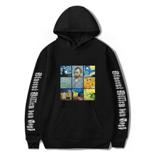2020 Harajuku Hoody Sweatshirts Men Women's Van Gogh And Mona Lisa Print Aesthetic Hoodies Autumn Ladies Long Sleeve Clothes(China)