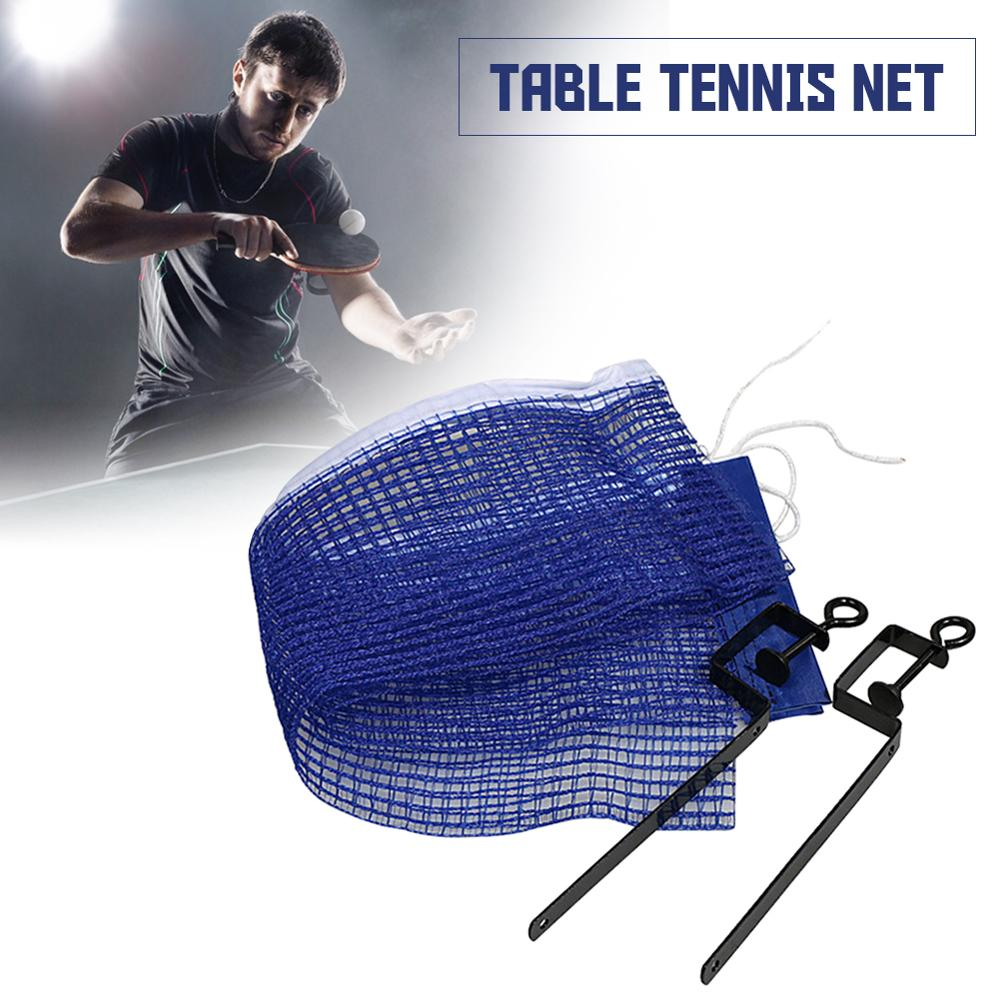 """Polyester Table Tennis Net 71"""" Portable And Easy Setup Ping Pong Net With Screw On Clip For Playing Table Tennis At Home"""