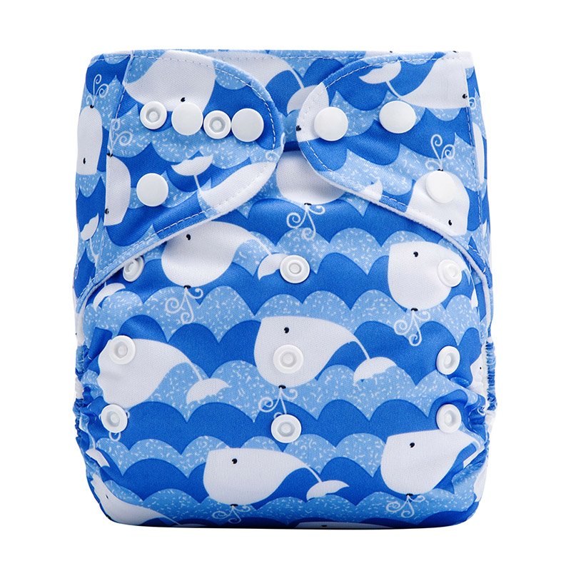 Wholesale Baby Diapers All In One For Reusable Organic Cloth Pocket Diaper Terry Towel Nappy L34