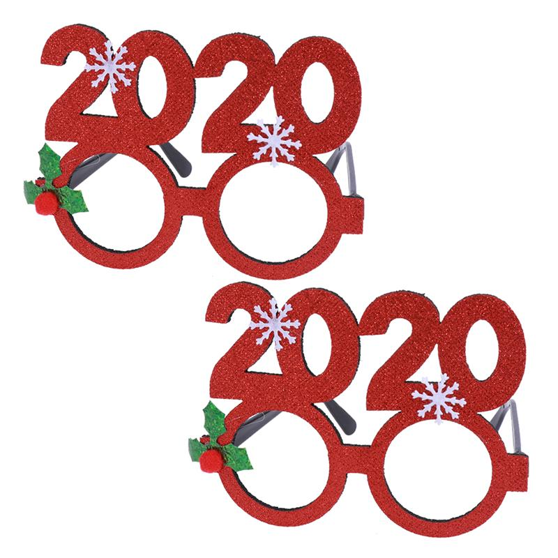 2020 New Years Eve Eyeglass Party Fancy Dress Party Photo Prop Accessories