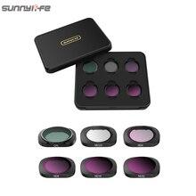 3/4/6 Pcs Sunnylife FIMI PALM MCUV CPL ND ND4 ND8 ND16 ND32 Objektiv Filter Set Für FIMI PALM gimbal Kamera Zubehör