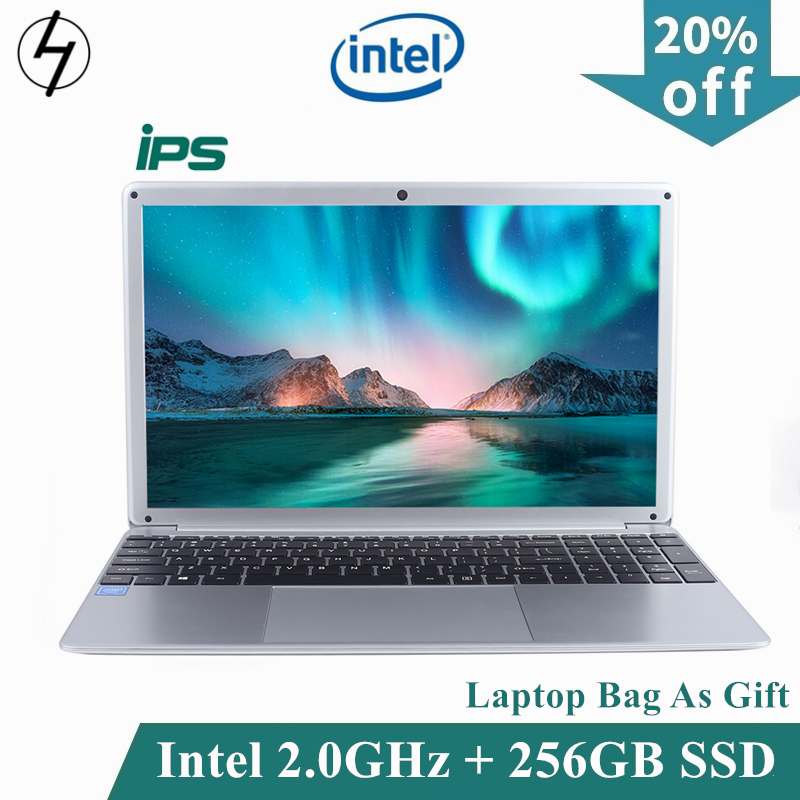 LHMZNIY Student Laptop 15.6 Inch Intel Quad Core 4GB RAM Netbook 1080P Windows 10 Notebook with WiFi Bluetooth Webcam IPS Screen image