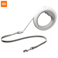 Xiaomi UFO Retractable Dog Leash Ring Led lighting Flexible Pet collar Dog Puppy Traction Rope Belt Length 2.6M Smart Remote