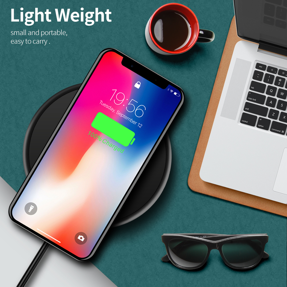 Image 5 - Olaf Wireless Charger For Xiaomi mi note 10 Wireless Charging Pad  Receiver For iPhone 11 Pro MAX X 8 Plus Samsung S10 S9 PlusWireless  Chargers
