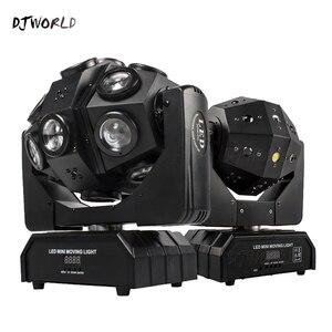 Image 1 - Led 18x12W Moving Head Laser Projektor Beleuchtung RGBW 4in1 Strahl Bühne Licht Wirbelwind Wirkung Für Dj Disco party Ball Strobe Laser