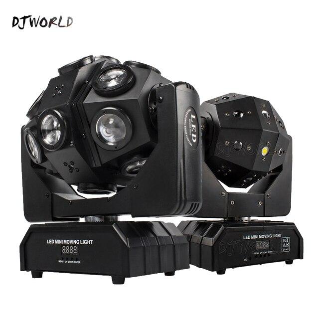Led 18x12W Moving Head Laser Projektor Beleuchtung RGBW 4in1 Strahl Bühne Licht Wirbelwind Wirkung Für Dj Disco party Ball Strobe Laser