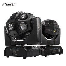 Led 18x12W 움직이는 머리 레이저 프로젝터 조명 RGBW 4in1 빔 무대 조명 회오리 바람 효과 Dj 디스코 파티 공 스트로브 레이저