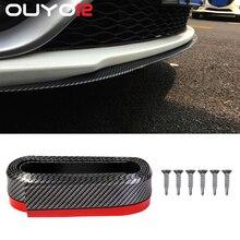 Car-Bumper-Protectors Carbon-Fiber Rubber Lip Width-Strip Car-Door Splitter 65mm Body-Kits