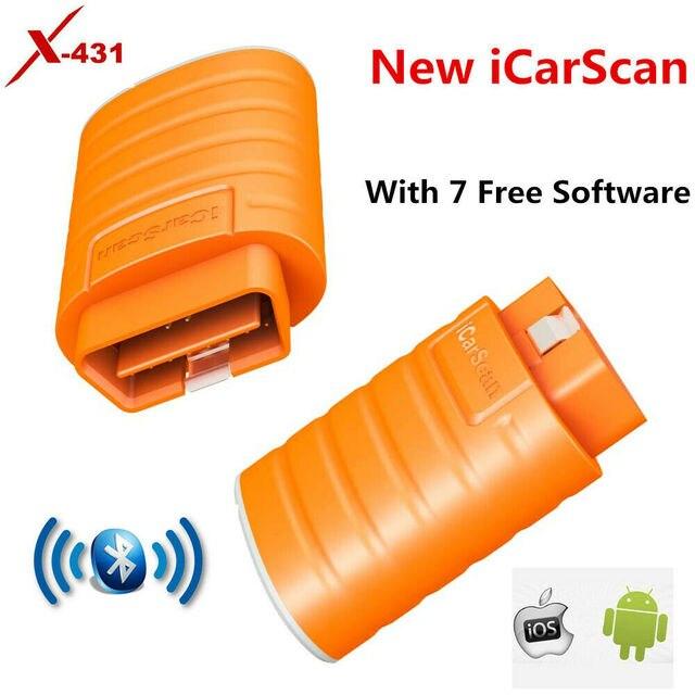 LAUNCH iCarScan Same as Launch X431 Easydiag 3.0 2.0 iDiag mdiag ELM327 Bluetooth Thinkcar ThinkDiag Get Free 5 FREE software