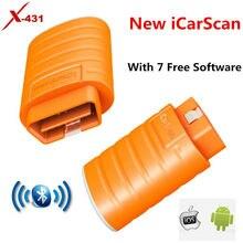 LAUNCH iCarScan auriculares inalámbricos con Bluetooth, dispositivo de audio con 5 programas gratuitos, para Launch X431 Easydiag 3,0 2,0 iDiag mdiag ELM327