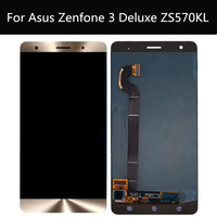 For ASUS Zenfone 3 Deluxe Z016S Z016D ZS570KL Touch screen+LCD display integrated components Digitizer Assembly for ZS570KL LCD